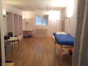 Mein Behandlungsraum in Bern