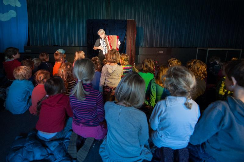 Heiner Hitz Märchenerzähler im Kindergarten 1